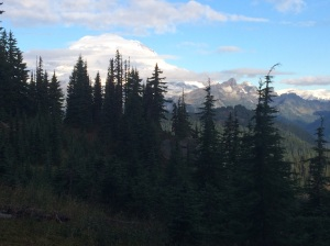 I finally saw aountain in Washington! Rainier?