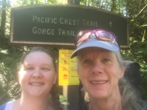 Cascade Locks trailhead
